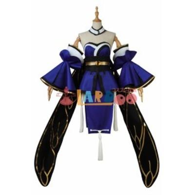 FateGrand Order FGO Fate EXTELLA LINK キャスター 玉藻の前 コスプレ衣装[4037]