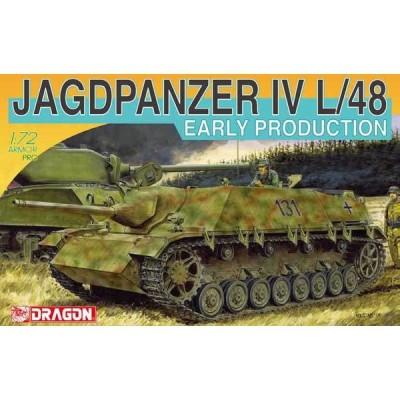 ドラゴンモデル 1/ 72 WW.II ドイツ軍 IV号駆逐戦車 L/ 48 初期生産型(DR7276)プラモデル 返品種別B