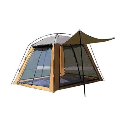 YYDD Outdoor Tent Camping Gauze Net Breathable Sunscreen Four-Sided Door Window Breathable Anti-Mosquito 3 to 4 People Fis