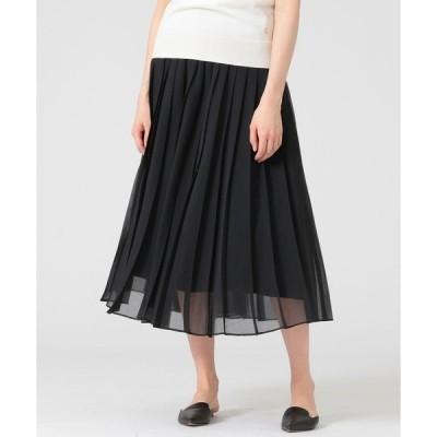 スカート ソフトオーガンジースカート