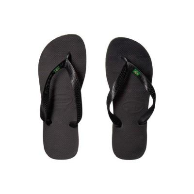 ハワイアナス Havaianas レディース ビーチサンダル シューズ・靴 Brazil Flip Flops Black