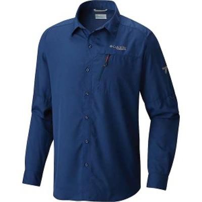 コロンビア メンズ シャツ トップス Columbia Men's Trail Eco LS Shirt Carbon