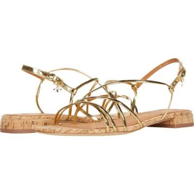 トリー バーチ Tory Burch レディース サンダル・ミュール シューズ・靴 Penelope 15mm Sandal Gold/Natural