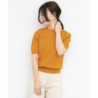 KBF / ケービーエフ 5分袖ニットTシャツ