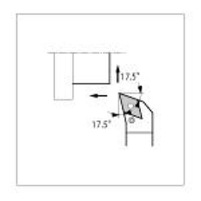京セラ 外径用ホルダ PDHNL2020K15 [175-1301] 【TA式旋削工具】