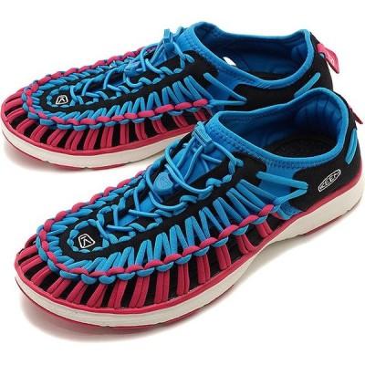 キーン KEEN スニーカー ユニーク オーツー M UNEEK O2 1020807 SS19 メンズ スポーツサンダル 靴 DRESDEN BLUE CABARET ピンク系