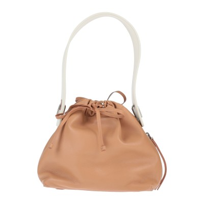 BONASTRE ハンドバッグ キャメル 革 ハンドバッグ