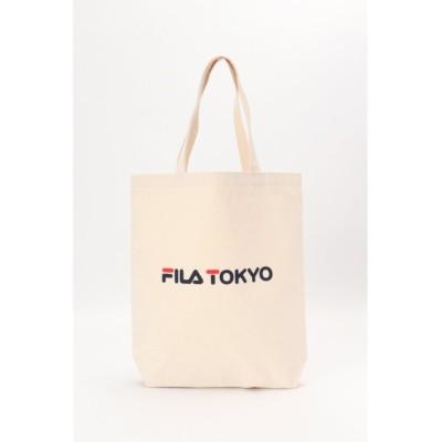 【イッカ】 FILA ヘリテージTOKYOトート メンズ ベージュ FREE ikka