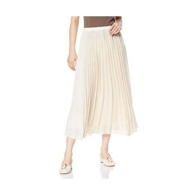 [ダズリン] スカート パネルカラープリーツスカート レディース 021950801101 (オフホワイト Free Size)