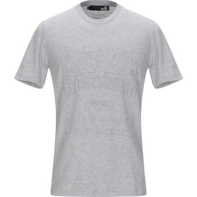 モスキーノ LOVE MOSCHINO メンズ Tシャツ トップス T-Shirt Light grey