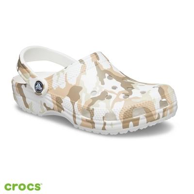 Crocs卡駱馳 (中性鞋) 經典迷彩印花克駱格-206454-94S