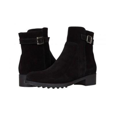 La Canadienne ラカナディアン レディース 女性用 シューズ 靴 ブーツ アンクル ショートブーツ Shelby - Black Suede