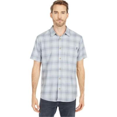 オニール O'Neill メンズ 半袖シャツ トップス Dialed Short Sleeve Shirt Light Indigo