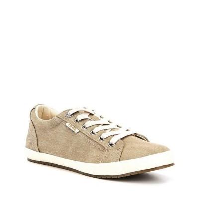 タオスフットウェア レディース スニーカー シューズ Star Canvas Sneakers