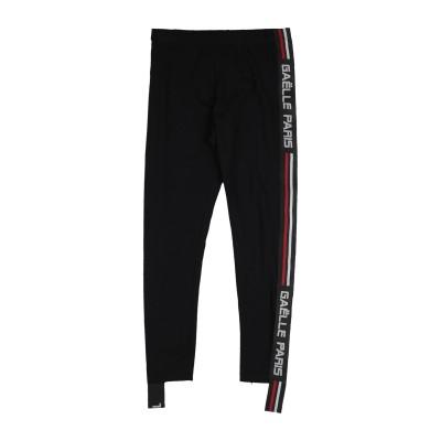 GAëLLE Paris パンツ ブラック 16 コットン 90% / ポリウレタン 10% パンツ