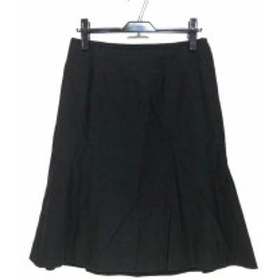 バーバリーロンドン Burberry LONDON スカート サイズ40 L レディース 黒【中古】20200319