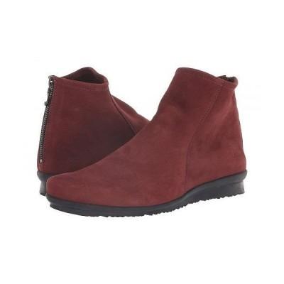 Arche アルシュ レディース 女性用 シューズ 靴 ブーツ アンクル ショートブーツ Baryky - Rioja Waterproof Brushed Leather