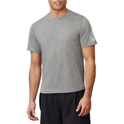フィラ Fila メンズ Tシャツ トップス FILA Scallop Hem Pickleball Crew T-Shirt Varsity Grey