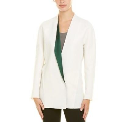 アクリス レディース ジャケット&ブルゾン アウター Akris Linen-Blend Silk-Lined Jacket moonstone