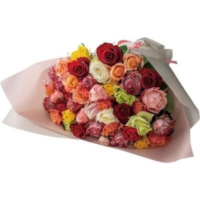 アデリーアデリー バラ花束 ミックス 44本 RH-M44 1箱(直送品)