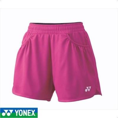 [YONEX]ヨネックス レディーステニスウェア ショートパンツ (25019)(654) ベリーピンク[取寄商品]