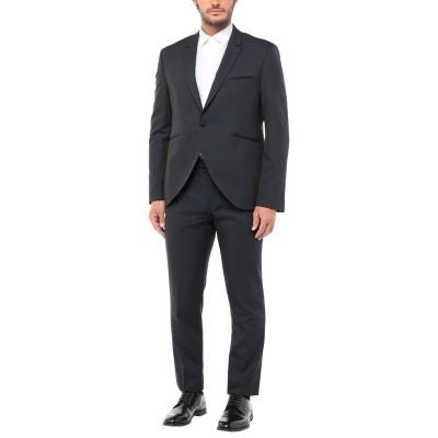 CARLO PIGNATELLI CERIMONIA スーツ ダークブルー 58 ポリエステル 51% / ウール 23% / アセテート 19%