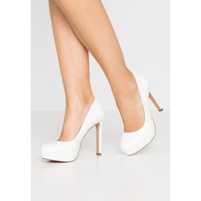 エブンアンドオッド ヒール レディース シューズ High heels - white
