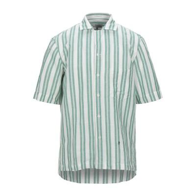 ペペ ジーンズ PEPE JEANS シャツ ライトグリーン M リネン 65% / コットン 35% シャツ