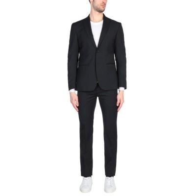 MR MASSIMO REBECCHI スーツ ブラック 48 ポリエステル 54% / ウール 44% / ゴム 2% スーツ