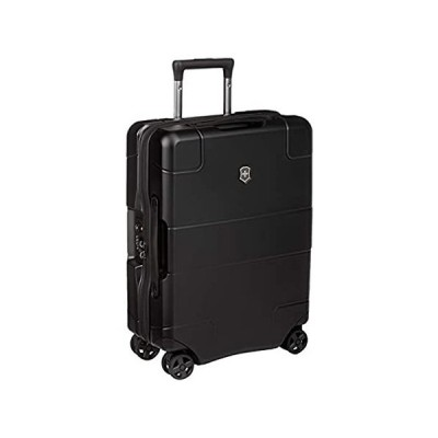 Victorinox Lexicon Hardside Expandable Spinner Luggage, Black, Carry-On-Glo