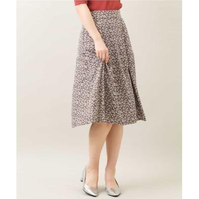 MK MICHEL KLEIN homme / 【洗える】単色フラワープリントスカート WOMEN スカート > スカート