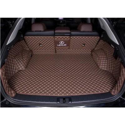 新品 レクサス 新型RX200t 450h 300 専用 PU革 トランクトレイ 防水マット フロアマット 汚れ保護 ブラウン