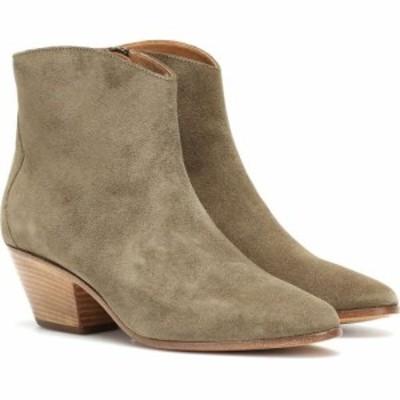 イザベル マラン Isabel Marant レディース ブーツ ショートブーツ シューズ・靴 Dacken suede ankle boots Taupe