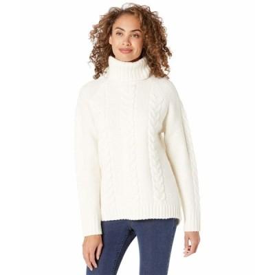 カリトラ ニット&セーター アウター レディース Lid Knit Natural White
