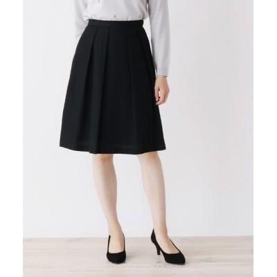 SOUP / 【大きいサイズあり・13号・15号】ウール風タックフレアスカート WOMEN スカート > スカート