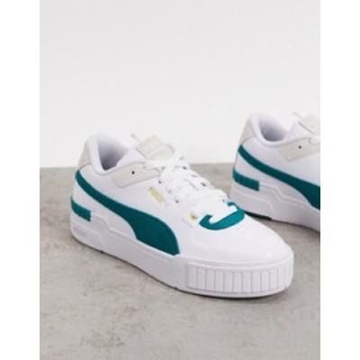 プーマ レディース スニーカー シューズ Puma Cali Sport sneakers in green Green