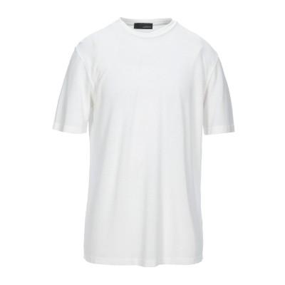 ラルディーニ LARDINI T シャツ アイボリー 46 コットン 100% T シャツ