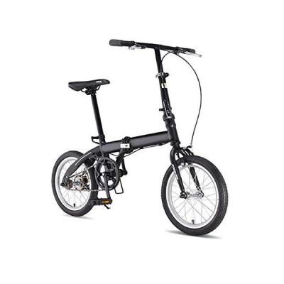 """AUKLM Comfort Bikes Aerobic Exercise Folding Bike Unisex Alloy City Bicycle 15"""" with Adjustable Handlebar & Seat Single-Speed,Comfort Saddle"""