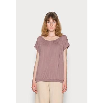ソヤコンセプト Tシャツ レディース トップス SC-MARICA 4 - Basic T-shirt - amethyst