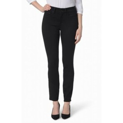 NYDJ  ファッション パンツ NYDJ NEW Black Womens Size 16P Petite Stretch Ami Skinny Jeans