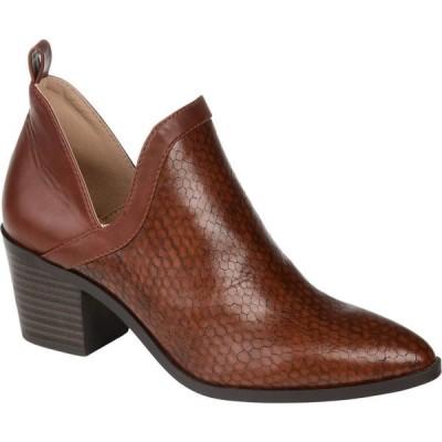 ジュルネ コレクション Journee Collection レディース ブーツ シューズ・靴 Terri Bootie Brown
