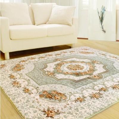 カーペット ラグ ローズ柄 ヨーロッパ リビングルーム 寝室 ソフトハウス ドアマット コーヒーテーブルカーペット