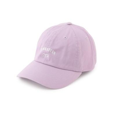 JUNRed / Newhattanロゴ刺繍CAP MEN 帽子 > キャップ