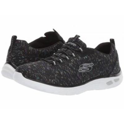 SKECHERS スケッチャーズ レディース 女性用 シューズ 靴 スニーカー 運動靴 Empire DLux Black Multi【送料無料】