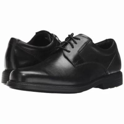 ロックポート 革靴・ビジネスシューズ Charles Road Plain Toe Oxford Black Leather