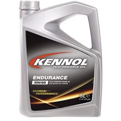 KENNOL(ケノル) 【ENDURANCE】 5W40 SN/CF 100%化学合成エンジンオイル(全合成油) 【5Lボトル】4輪ガソリン/ディーゼル車両用