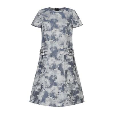 PHILOSOPHY di LORENZO SERAFINI デニムドレス ファッション  レディースファッション  ドレス、ブライダル  パーティドレス ブルー