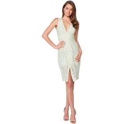 バードット レディース ワンピース トップス Halter Lace Dress