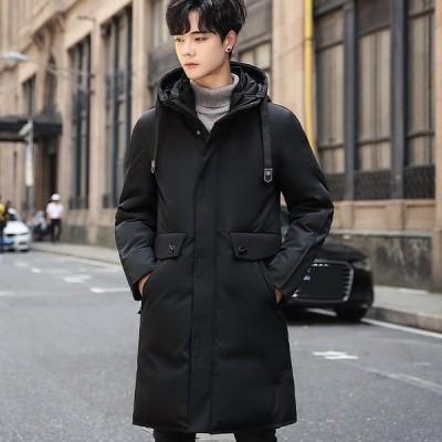 ダウンジャケット 2色 若さ 令和 メンズ 上品 格好良い 青春 カジュアル 防寒 厚手 軽量 秋冬 中綿コート フード付き 中綿 スリム メンズ 冬服 ジャケット
