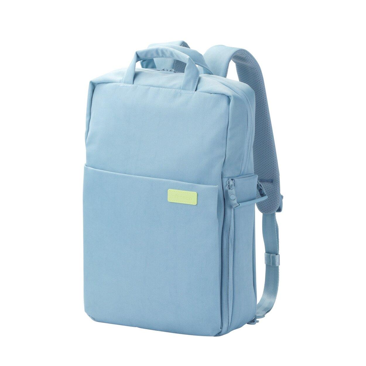 ELECOM 帆布3WAY薄型後背包(大) OF04 粉藍